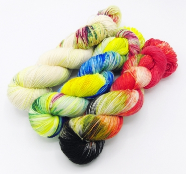Yarn-Kit SockYarn 3x100g   3x3.5 oz. Nr.197