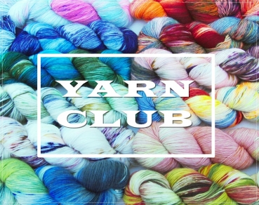 YARN CLUB SockYarn, handdyed OCTOBER-DECEMBE 3x300g